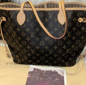 Sold out!!Authentic Louis Vuitton Neverful MM